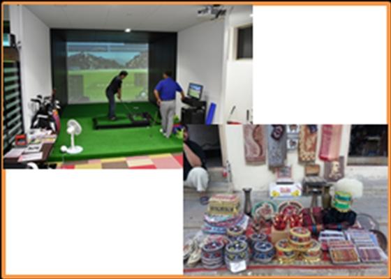 サンキューレター+本宮市「ゴルフスポットmotto ONE」60分1ブースご利用OK券(4名様まで)+アゼルバイジャン土産+リメイクバッグに関する報告書