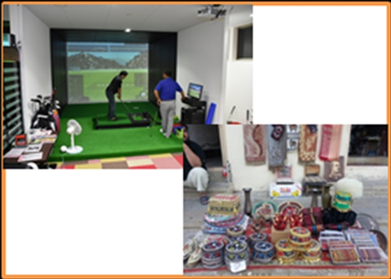 サンキューレター+本宮市「ゴルフスポットmottoONE」1ヶ月間毎日練習OK!40分間1ブースご利用券+プロゴルファーから直接レッスン1回券+アゼルバイジャン土産+リメイクバッグに関する報告書