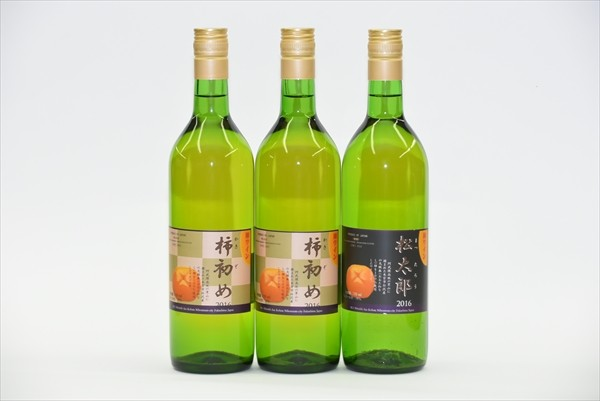 ・サンキューレター ・720ミリリットル柿ワイン3本