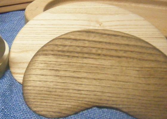 木工房MEGUROで制作した、会津桐で加工したマウスパッドです。 ※定価1296円(税込)
