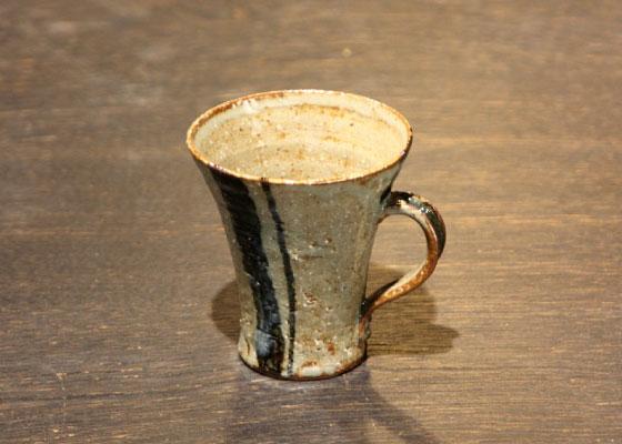 会津慶山焼のマグカップです。 ※定価2916円