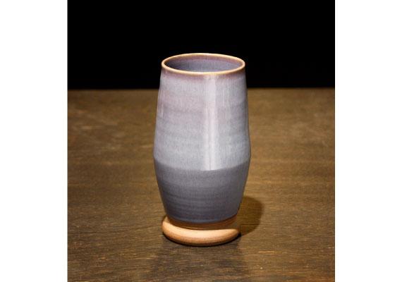会津慶山焼きの花瓶です。 ※定価8640円(税込)