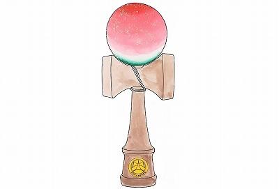 """福島県の特産品・・・、一番最初に思い浮かんだのが『桃』でした。 その『桃』をイメージしたオリジナル、プレミアム感満載の限定けん玉! 食べごろになった美味しそうな桃が、朝日を浴びてキラキラと輝いてるようなイメージデザインです。 【大空プレミアム ふくしま桃けん玉】とでも名付けましょう! 日本けん玉協会競技用認定けん玉「生産日本一!」の工場、㈲山形工房さん(山形県長井市)にご協力していただきオリジナルけん玉の製作をすることとなりました。品質は間違なく、出来上がりが非常に楽しみな1本になることは間違いないと思います。決して期待を裏切らない素晴らしいオリジナルけん玉にご期待下さい。  資金のサポートをして下さる皆様への返礼品けん玉ですので大会支援者以外への販売も一切致しませんので、県大会初開催記念の今回限りの製作けん玉となります。 (※大会参加者に配布予定の参加賞けん玉とは異なるデザインです)  ●写真はイメージイラストデザインです。  支援へのお礼の手紙<元・けん玉全日本チャンピオン山木弘行 8段の直筆サイン入り!!>と3月24日に開催いたします 【第1回うつくしま福島県けん玉道選手権大会】 の大会プログラム等へ感謝の意を込め、お名前を掲載させていただきます。 (お名前・都道府県名まで)  ★お礼の内容を追加いたしました★ お礼の手紙には元・けん玉全日本チャンピオン山木弘行 8段の直筆サインが入ります!! 山木さんが福島県大会資金支援をしてくださった皆さまに感謝を込めて1枚、1枚、心を込めて書いてくださるそうです☆ けん玉をこよなく愛する山木さんが、サインを通して、""""けん玉愛""""を皆さまにお届け致します!!     ■お支払い方法■ 「振込み」または「クレジットカード払い(Visa, MasterCard)」の一括払い をご指定いただけます。"""