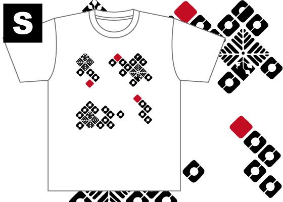 【制作者】 国際アート&デザイン大学校  イラストレーション科 2年 水野 緋音さん  【作品タイトル】 踊るしかく  【デザインポイント】 色数を少なくはっきりとさせることでシンプルかつカッコよくしました。 アクセントに赤を入れて少し変化を持たせました。  【スペック】 4.4オンス ドライTシャツ(ポリエステル100%)吸汗速乾,UVカット Sサイズ / 身丈65cm,身巾47cm,肩巾44cm,袖丈20cm Mサイズ / 身丈68cm,身巾50cm,肩巾46cm,袖丈21cm Lサイズ / 身丈71cm,身巾53cm,肩巾48cm,袖丈22cm  【お届け】 サポート募集終了から約1ヶ月(12月初旬頃)