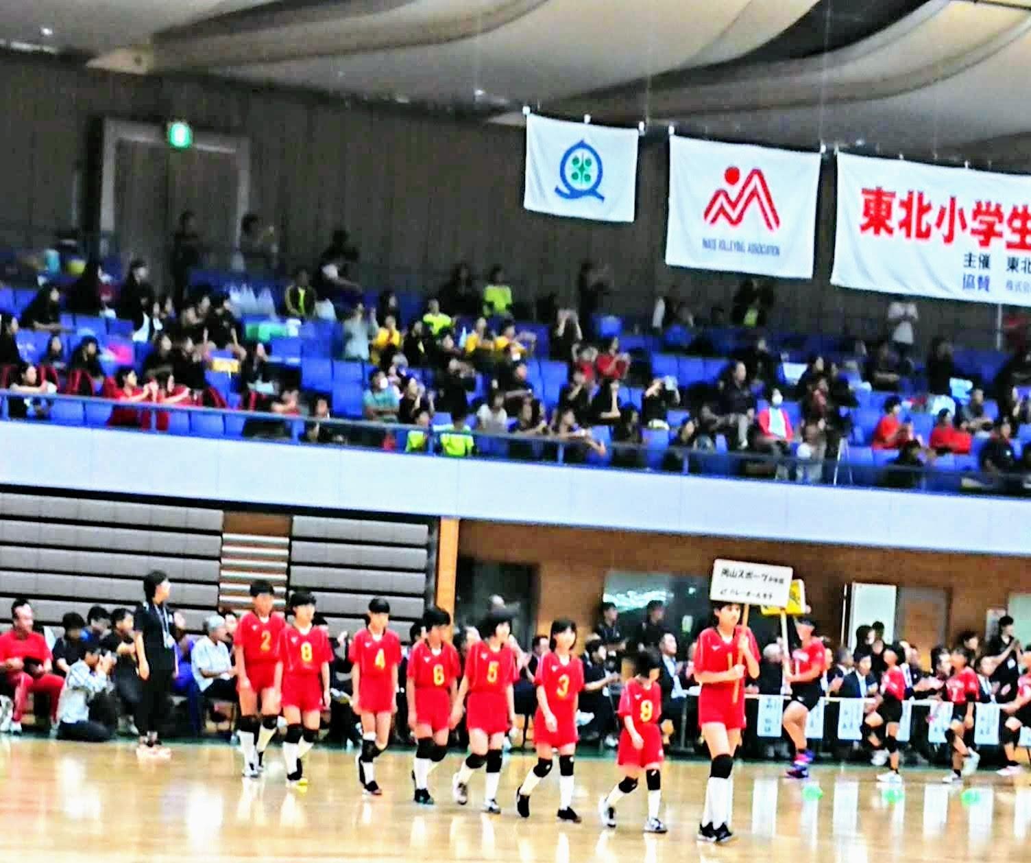 岡山スポーツ少年団女子バレーボール部