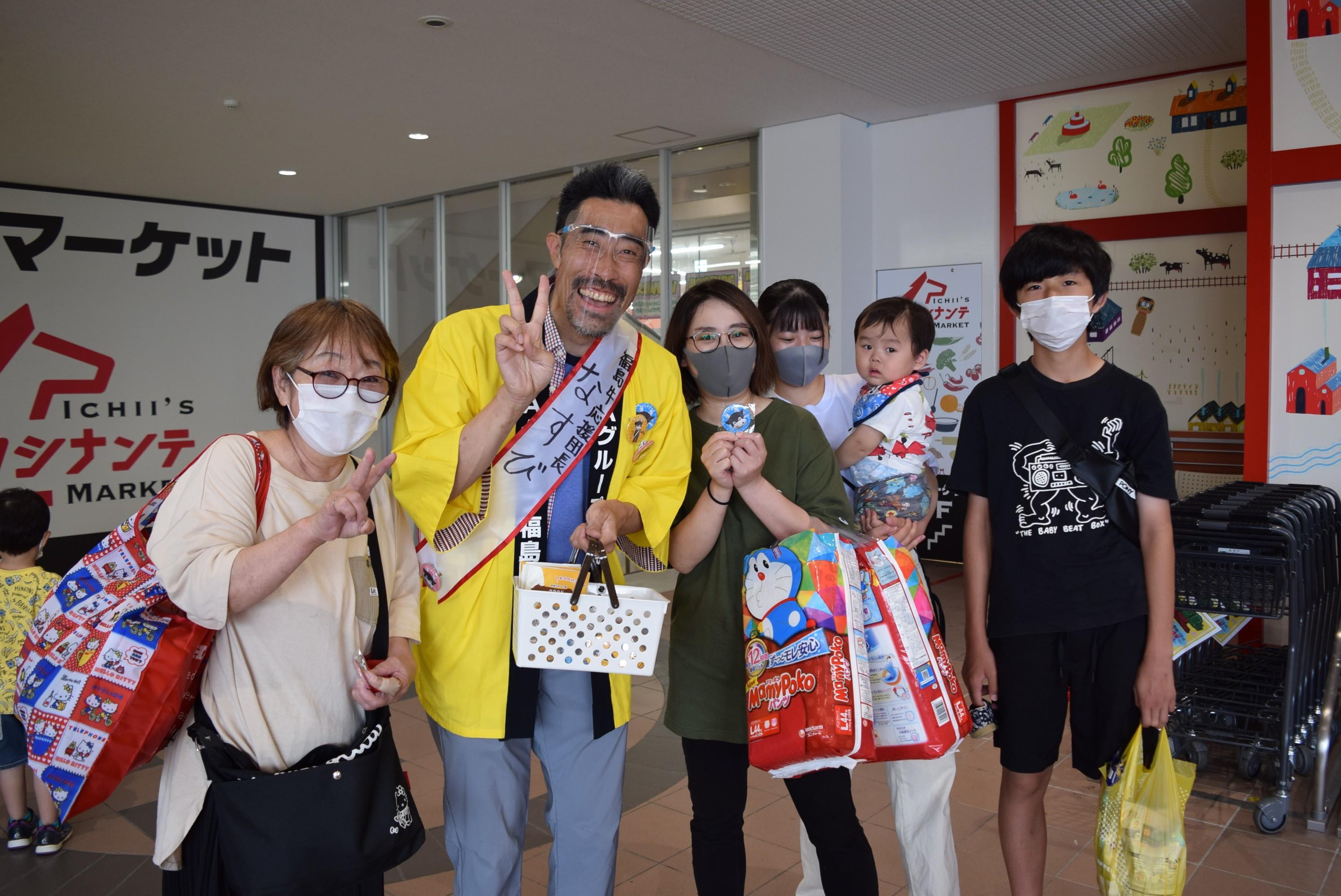御礼!!いちいロシナンテ店・福島牛特別販売フェア