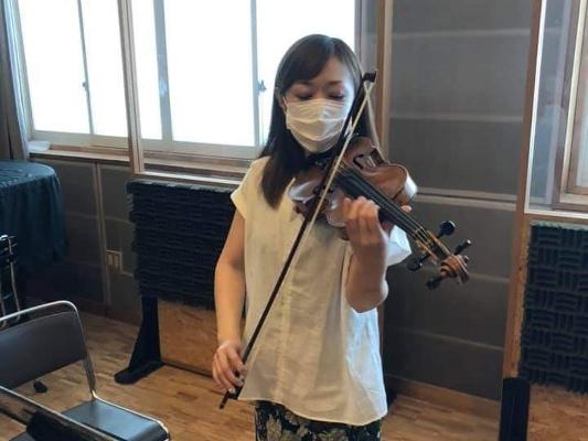 楽曲復活の主要メンバーの1人「バイオリニスト 草野美香」さんご紹介【予告】