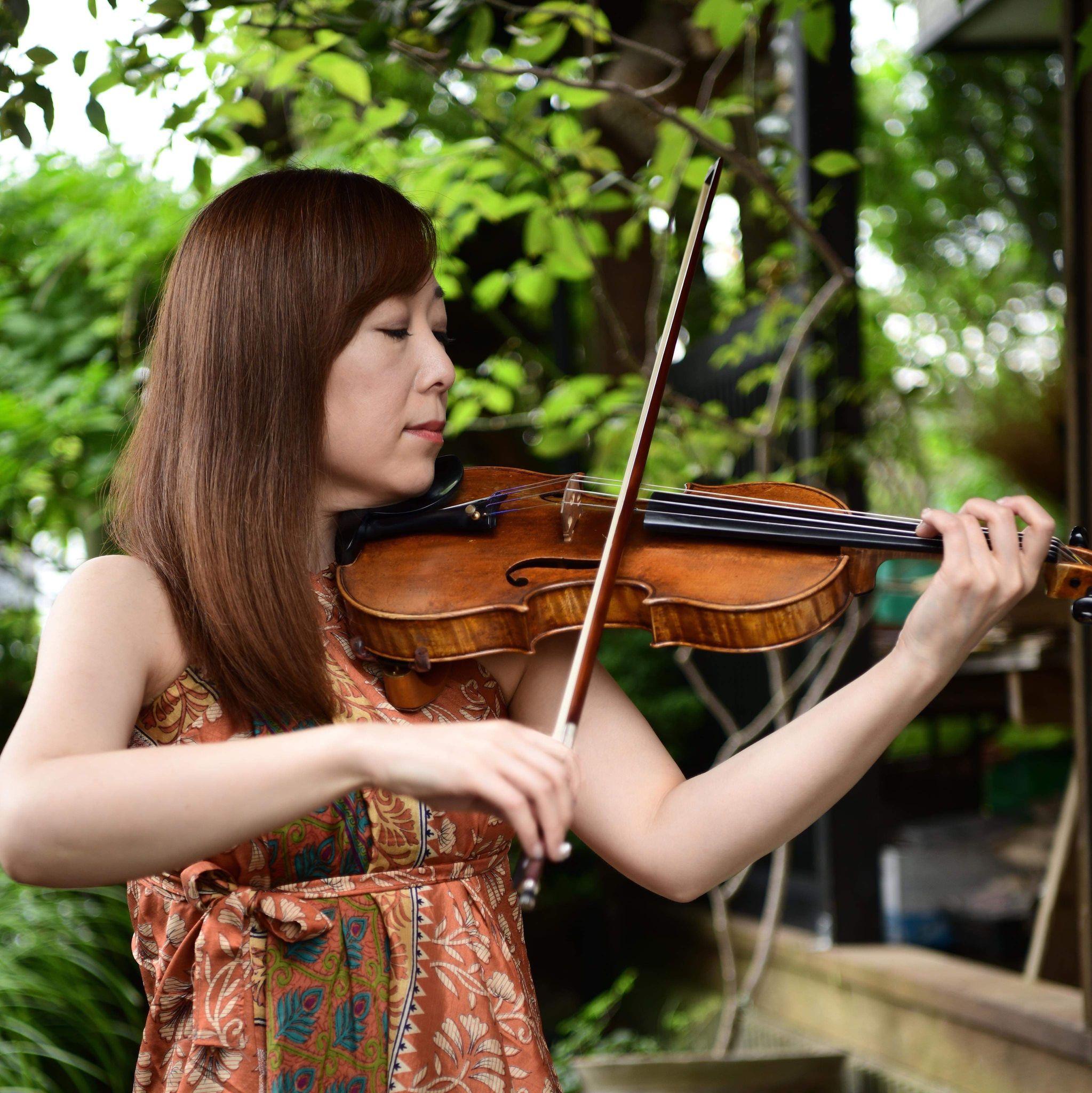 楽曲復活の主要メンバーの1人「バイオリニスト 草野美香」さんから