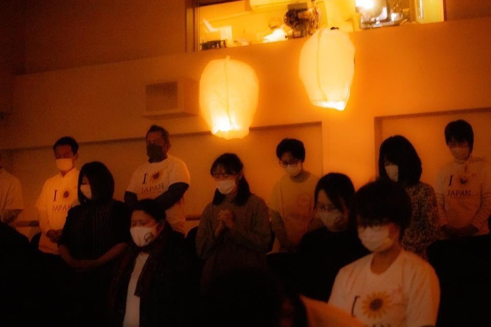 ◇2021.3.11 映画上映と黙祷