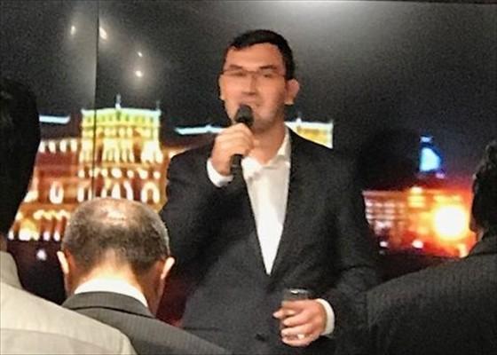 『アゼルバイジャン和食地酒expo決起大会』参加❗️