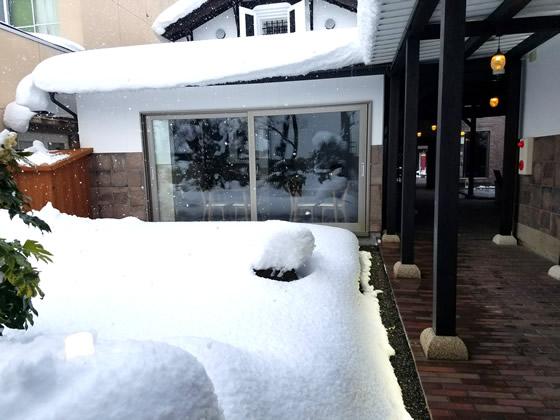 雪景色【クラガーデンコーヒー】