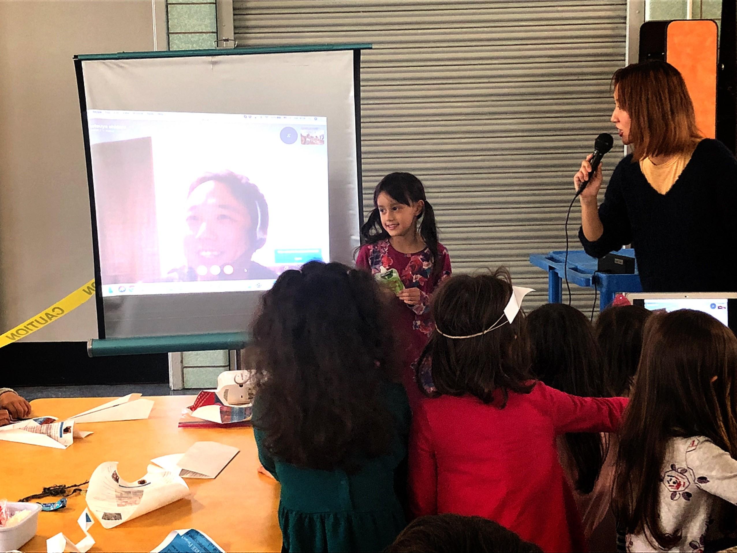 福島の農家→NYのこどもたちの交流会やりました!
