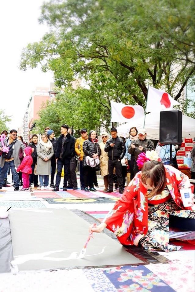ジャパンフェス  ライブペインティング